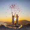 santorini proposal flowers reviews
