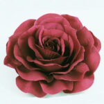 burgundy rose wedding flower meaning