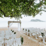 santorini outdoor boho dinner and wedding